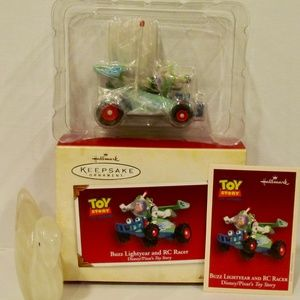 Hallmark Other - Hallmark Toy Story Buzz Lightyear & RC Racer 2005